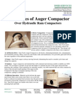 Advantages of Auger Compactor