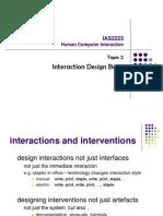 HCI 2 Interaction Design Basic