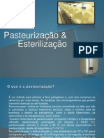 Pasteurização e Esterilização