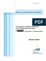 Final Evaluation Report ENAUC HP&UNICEF