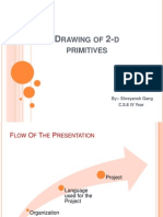 Drawing of 2-d Primitives