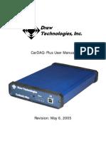CarDAQ Plus Manual