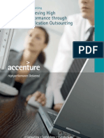 226Accenture Achieving High Performance Through Application Outsourcing