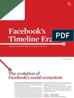 Facebook's Timeline Era - Managing Your Brand Through Facebook's Evolution