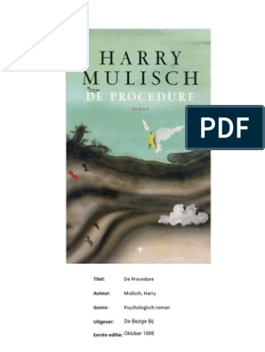 Nederlands De Procedure Van Harry Mulisch