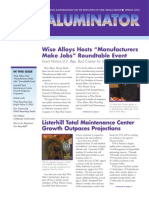 wise alloys aluminator spring 2005