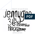 360 Leadership Programme Application