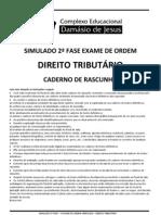 SIMULADO TRIBUTÁRIO 2012