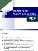 Curs 12 Transferul de Caldura Prin Radiatie