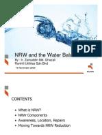 (4) Zainuddin Ghazali - NRW and Water Balance an Operator's Perspective