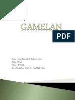 Gamelan Folio
