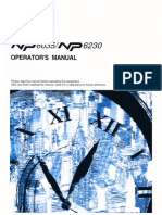 NP 6035_ NP 6230 Operators Manual