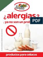 Productos sin gluten y alergias alimentarias distribuidos por EL GRANERO INTEGRAL
