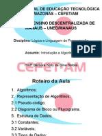 AULA 2 - LÓGICA DE PROGRAMAÇÃO