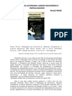 07 -Pedagogia Da Autonomia - Paulo Freire