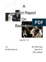 Project Badminton