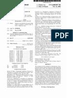 Methods for administration of antibiotics (US patent 6468967)