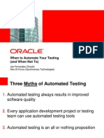 Automate Testing Do or Not