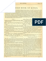 The Third Book of Kings (the First Book of Kings) (With Haydock Commentary)