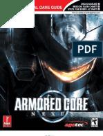 Armored Core Nexus Prima Official eGuide - Cópia
