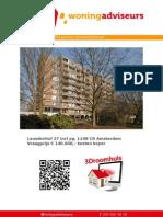 Brochure Leusdenhof 27 te Amsterdam