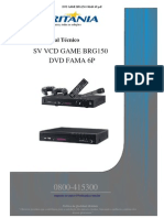Dvd Game Brg150-Fama 6p
