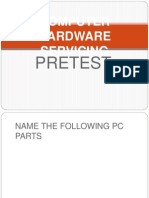 Computer Hardware Servicing Pretest