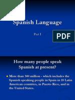 Spanish Language Presentation