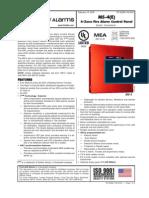 Fire Alarm Conventional FACP 2 Df-52266
