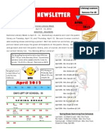 BPE April News