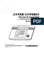 Manual Alarma Lynxr24