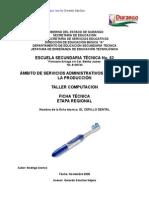 Análisis de Objeto Técnico del Cepillo Dental