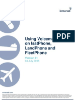 Using Voicemail on IsatPhone LandPhone and Fleet Phone