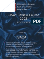 CISA Review 2003 Introduction[2]