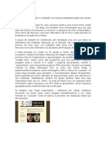 RelatÓrio Da AcÇÃo de FormaÇÃo a Internet No Ensino