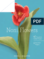 Dahlia Project From Noni Flowers by Nora Bellows