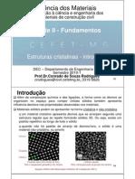 EPC 33E - estrutura cristalina - introdução