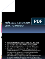 Análisis literario de la obra «IVANHOE»