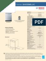 Bosch SHX55M0_UC