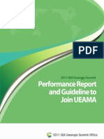 1.Performance Report and Guideline to Join UEAMA in Gwangju, Korea