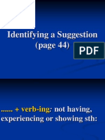 5. Vocab Identifying a Suggestion (Page 44)