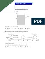 IGCSE Physics - Length and Time