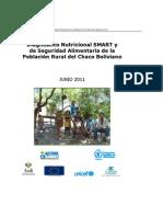 Diagnóstico Nutricional SMART y de Seguridad Alimentaria de la Población Rural del Chaco Boliviano