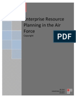Enterprise Resource Planning in the Air Force