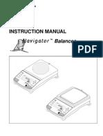 OHAUS Navigator Balance