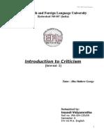 Criticism - Internal 2