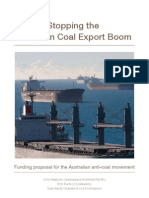 Stopping Australian Coal Export Boom- Green Peace Report Funded by Rockefeller Family Fund (Standard Oil)
