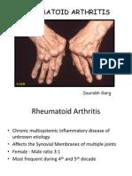 Rhumatoid Arthtritis
