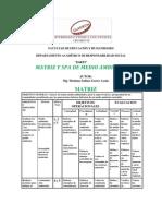 Matriz, Silabo y Plan de Aprendizaje de Medio Ambiente- Maximo Garro