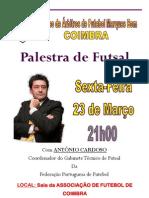 Cartaz Da Palestra de Futsal